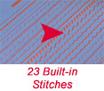 23 builtin stitches