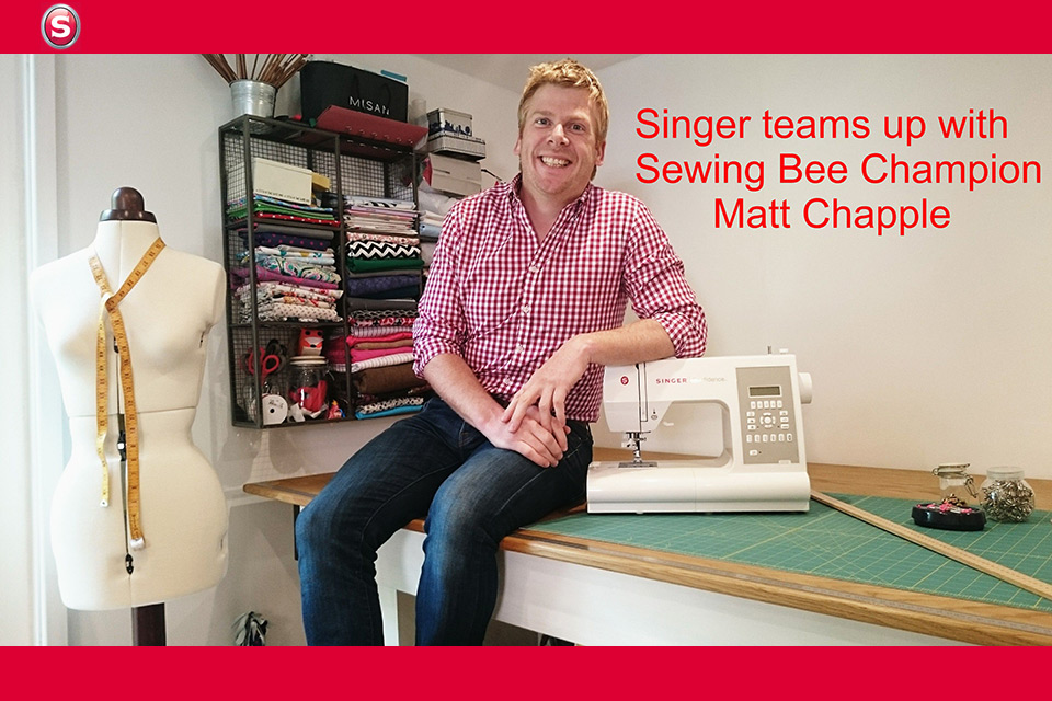 Matt Chapple with Singer